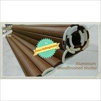 Aluminium Wood Finishing Rolling Shutters