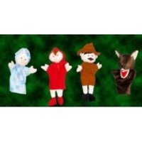 Glove Puppets - Red Riding Hood Story