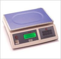 Table Top Weighing Scale Silver