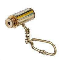 Brass Metal Key Chain Telescope