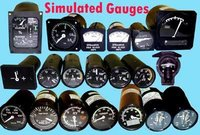 Electrical Simulated Gauges
