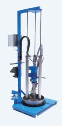 Barrel Emptying System For Adhesive And Chemical