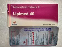 Lipimed 40 Atorvastatin Tablets 40mg