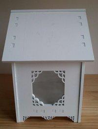 Medium Rhombus Detachable Wooden Bird House