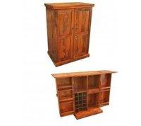 Sheesham Wood Bar Cabinet