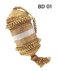 Ladies Metal Traditional Clutches