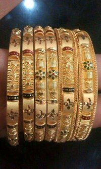 Premium Quality Gold Bangles
