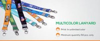 Multicolour Lanyards