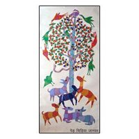 Gond Painting Indian Paintings