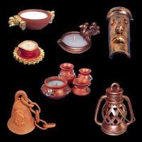 Terracotta And Pottery Lamps - Artifacts
