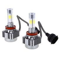 Auto Headlight Bulb 36W 4000LM (x2) 6000K Daylight LED Headlamp Bulbs Conversion Kit