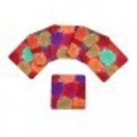 Floral Marigold Mdf Coasters