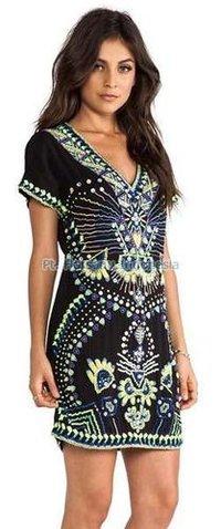 Ladies Batik Dress
