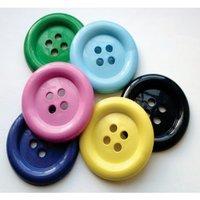 Four Holes Plastic Buttons