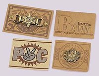 PU Metal Labels
