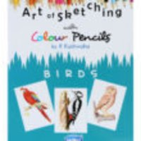 Book on Art Of Skecthing With Colour Pencils Birds