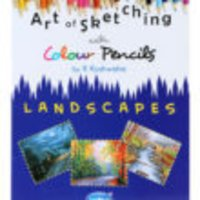 Book on Art Of Skecthing With Colour Pencils Landscapes