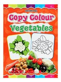 Book on Copy Colour Vegetables