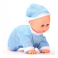 Crawling And Dancing Baby Toy (Blue)