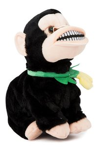 Dancing Soft Black Monkey With Music