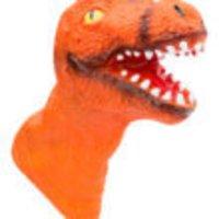Dinosaur Puppet Orange