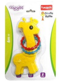 Funskool Giraffe Rattle Yellow