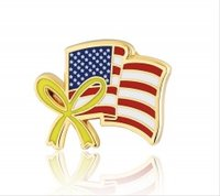 Stock American Flag Pins