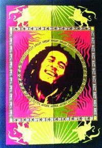 Decorative Bob Marley Wall Hanging Poster