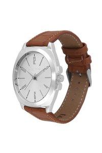 Brown Analog Wrist Watch