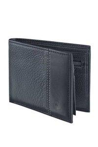 Men Leather Black Wallet