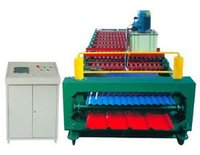 Dual Layer Color Steel Panel Roll Forming Machine