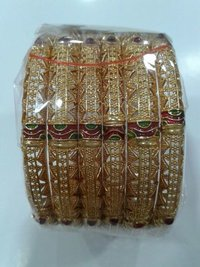 High Gold Plated Bangles