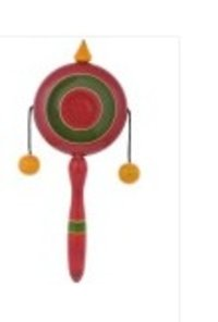 Plate Rattle Plastic Toy