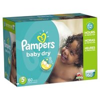 Pampers Baby Dry Diapers - Size 5