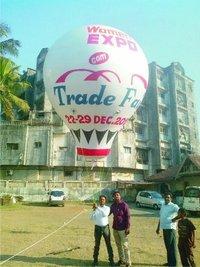Trade Fair Advertising Sky Balloons