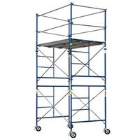 Single Width Aluminium Mobile Scaffold Tower Without Stair
