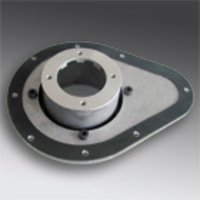 Mounting plate for bell housings