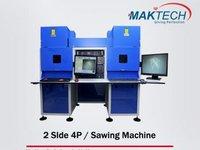 2side 4 Process Diamond Laser / Sawing Machine
