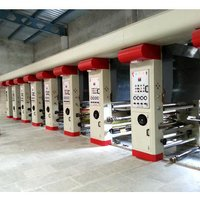 Six Colour Rotogravure Printing Machines