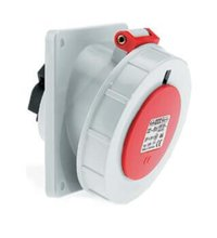 Socket Outlet Angled Water Tight Ip67 3 Pin 16amp