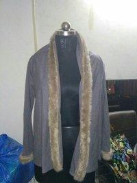 Cape With Fur Shawl