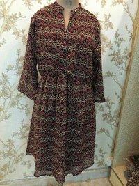 Georgette Print Ladies Tunic