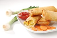 Exotically Spiced Vegetable Spring Roll