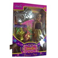 Designer Plastic Doll Set