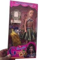 Plastic Fancy Doll