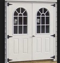 Solid Core Wooden Flush Door Shutter