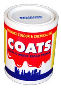 Coats Acrylic Water Based Primer
