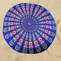 Yoga Printed Mandala Tapestry