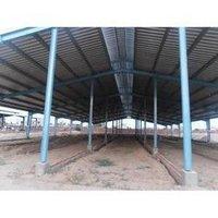 Pre Engineered Steel Dairy Farm Sheds