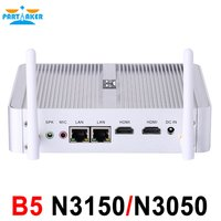 Partaker B5 Fanless Desktop Computer Mini PC
